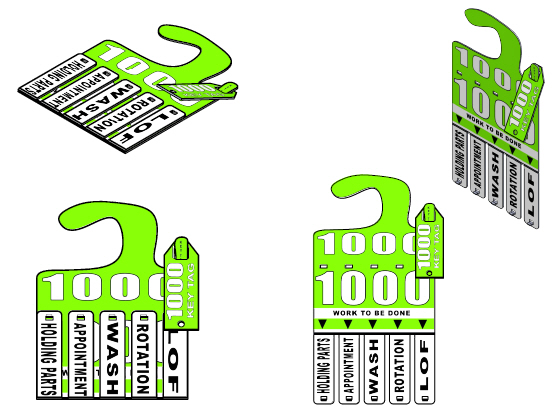 New Generations Service Tags, Reusable Service Tags, Service Tags